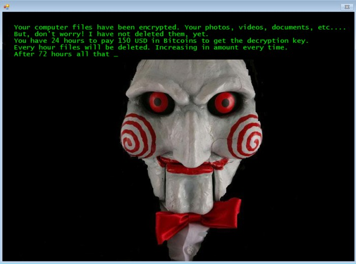 Raansomware Malware jigsaw