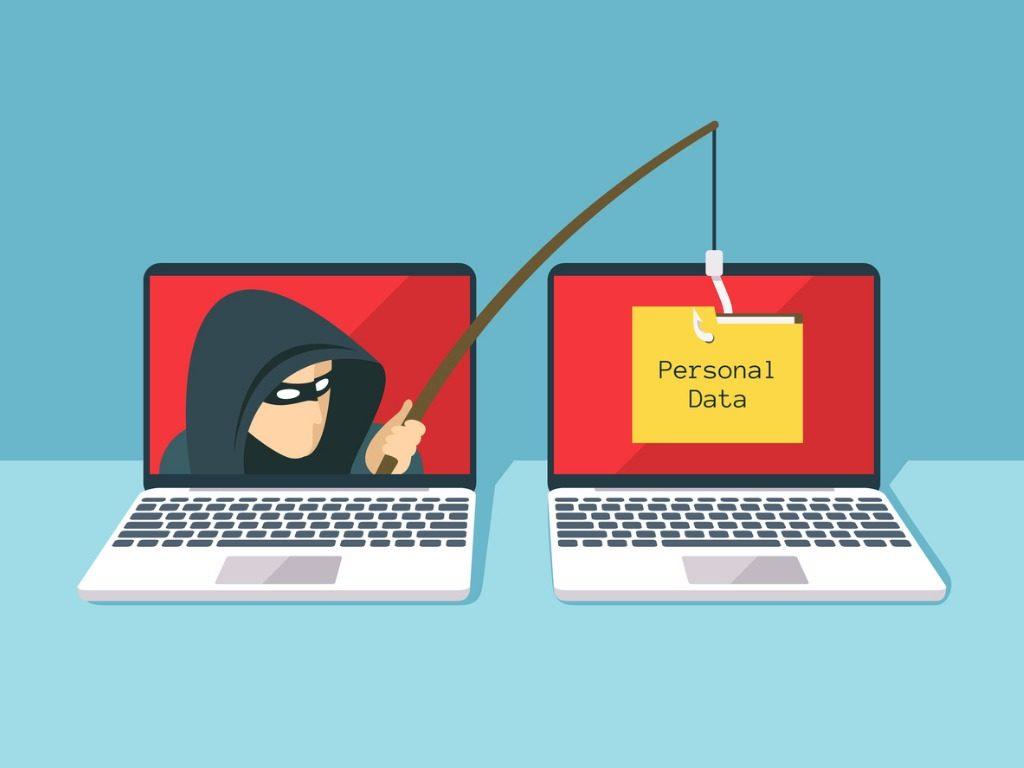 Phishing scam