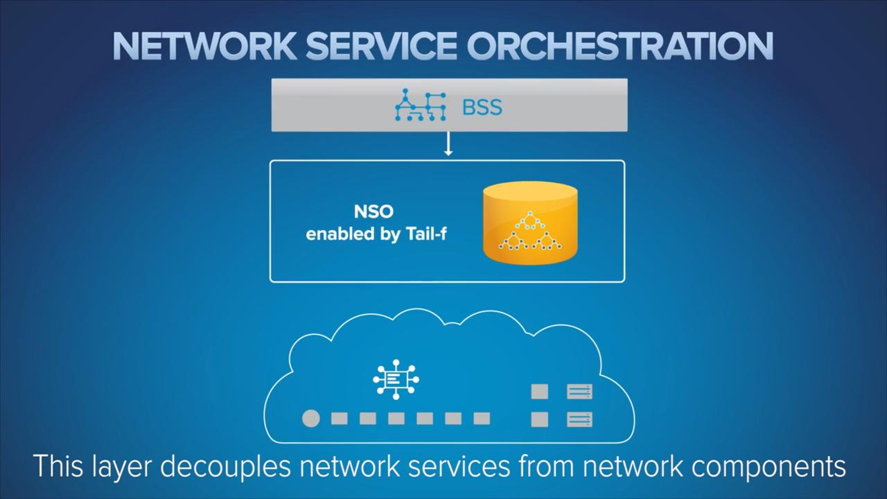 Cisco Network Service Orchestration